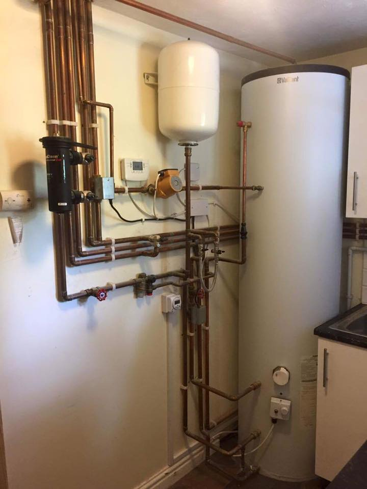 Central Heating Installations - Unvented cylinder - Harwood Heating ...